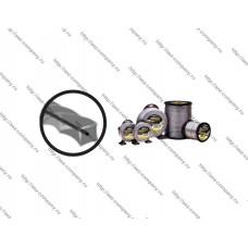 Леска триммерная d-2,00мм, 324м, сечение витой квадрат, упаковка бухта, серия DUO TWIST