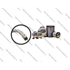 Леска триммерная d-2,00мм, 15м, сечение витой трос, упаковка блистер, серия ALULON