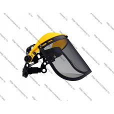 Защитный щиток регулируемый с железной сеткой