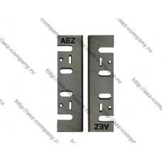 Комплект ножей AEZ серии GENERAL 110мм сталь HCS, для рубанков Макита,Интерскол,Китай