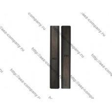 Комплект ножей AEZ серии GENERAL изготовлены из быстрорежущей стали марки HCS (65mn)102 мм с пазом(н