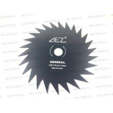 Диск косильный для бензокос, 26 зубов, наружний диаметр 230мм, посадка 25,4мм, сталь HCS