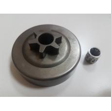 Барабан сцепления для бензопил EFCO 137, 141S, OLEO-MAC - 936, 937, 940, 941 (аналог 50050136A)