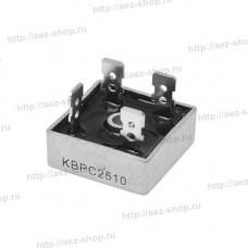Диодный мост KBPC2510, 25A, 1000V для инверторного сварочного аппарата Интерскол 160-200A