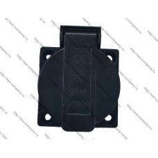 Блок-розетка для генераторов черная