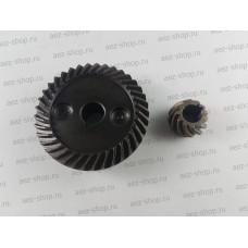 Коническая пара для УШМ 115(Китай,под шпонку,мелкий шаг) D49х10мм H-15,3мм, d18х8мм h-11,5мм