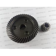 Коническая пара для УШМ 2300(Китай,под шпонку) D74х15мм H-21,5мм, d23х10мм h-17,2мм