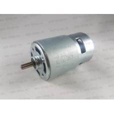 Двигатель 12В для аккумуляторных дрелей, шуруповертов, HRS-775S, D-44,5мм, L вала 93мм, d вала 5мм