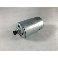 Двигатель 10,8В для Интерскол Li-On вал скос, D-37,4мм, L вала 75мм (шестерня d-8, 9z, h-7мм)
