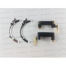 Набор контактов щеткодержателя и статора для Bosch 2-26, 2-28, Интерскол 26/800 (аналог 1611329024)