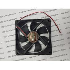 Вентилятор для охлаждения техники 120x120мм, h-25мм, 12В, 0,35А