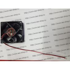 Вентилятор для охлаждения техники 80x80мм, h-25мм, 12В, 0,35А