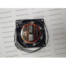 Вентилятор для охлаждения техники 80x80мм, h-25мм, 220В, 0,35А