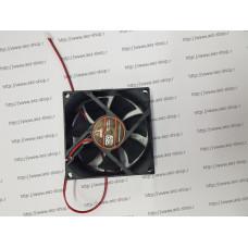 Вентилятор для охлаждения техники 80x80мм, h-25мм, 24В, 0,4А
