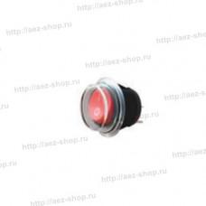 Водонепроницаемый кулисный переключатель, круглый, красный