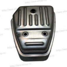 Глушитель для китайских бензокос Efco Stark 25, Oleo-Mac Sparta 25 (аналог 61010012R)