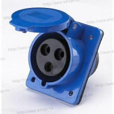 Блок-розетка для генератора, тип D, 32А, 220В