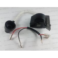Катушка зажигания (магнето) для триммера Интерскол МКБ-43/25 (аналог 85.06.01.35.00)