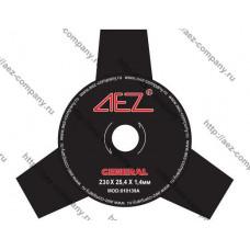 Диск для бензокосы 3 зуба диаметр 230мм, посадка 25,4мм
