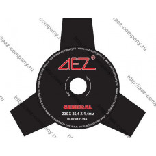 Диск для бензокосы 3 зуба диаметр 255мм, посадка 25,4мм