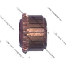 Коллектор для якоря тип2 (D-26,5, d-10, h-20, 24 ламели, крючки непродороженный)
