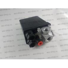 Автоматика для компрессоров Fubag под самозажимную трубку, 4 выхода 1/4 мама,220В,10Bar,PSI145