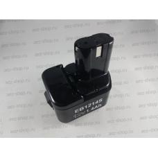 Аккумулятор для шуруповертов Hitachi DS12DVF3, DS12DVFA, Ni-Cd 12В, 1,4Ач (аналог EB-1214S, 333156)