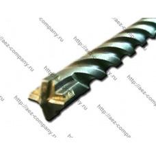 Бур для перфоратора SDS+ d6мм, длина 160мм крестовая победитовая напайка