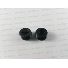 Заглушка пластиковая d-12мм, шаг резьбы 1, h-6,5мм для электроугольных щёток