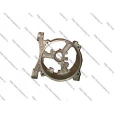 Задняя крышка бензогенератора, опора статора  для генераторов мощностью 2,2-2,8кВт