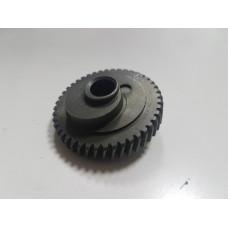 Диск-колесо лобзика Stern(Strum, Omax) JS-100BL, 100A D47,5x10, юбка 8мм, H-18,4, штырь 6мм, 44зуб