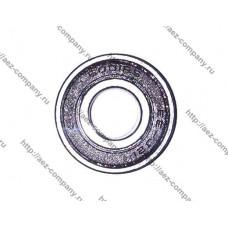 Подшипник 6001-2RS, D-28x12мм, H-8мм, оплетка резина