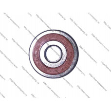 Подшипник 6200-2RS, D-30x10мм, H-9мм, оплетка резина