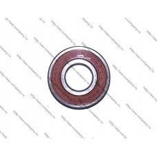Подшипник 6202-2RS, D-35x15мм, H-11мм, оплетка резина