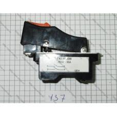 Выключатель  УШМ Китай (отрезная) с оттяжкой FA5-10/2DB