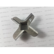 Нож для мясорубок Bosch 4-х гранный, конусная посадка 9,4x9,4/11,4x11,4мм, D-45мм (аналог 020468)