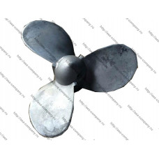 Винт лодочный алюминиевый