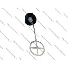Крышка бака для китайских бензокос тип A5-1, диаметр резьбы М37, наружний D-46,6мм, высота 23мм