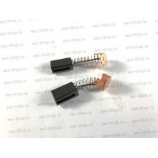 Электроугольная щетка 5х8х12 Пружина-пятак для Интерскол WS-115, P110-01