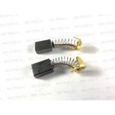 Электроугольная щетка 6х10х14 для Makita HP1030, LS1030 (СВ-103А) (аналог 643080-9)