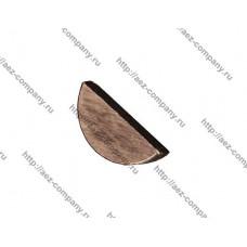 Шпонка 3х13мм для электро- и бензоинструмента полукруглая стальная