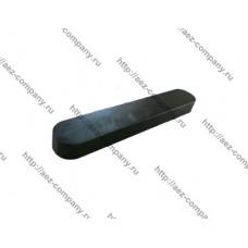 Шпонка 4х12мм для электро- и бензоинструмента овальная плоская