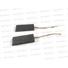 Электроугольная щетка 4,7 х 13,5 х 35 поводок d-1 мм, скос на краю (для стиральных машин)