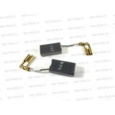 Электроугольная щетка 5х10х18 Поводок, клемма-мама для BOSCH аналог X44 (аналог 1617014124)
